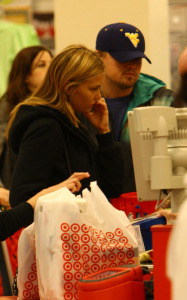 Leonardo DiCaprio and Bar Refaeli go shopping together on January 20th 2010 in Los Angeles
