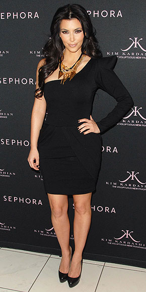 Kim Kardashian at the Launch of her perfume on February 17th 2010 at Sephora in Los Angeles